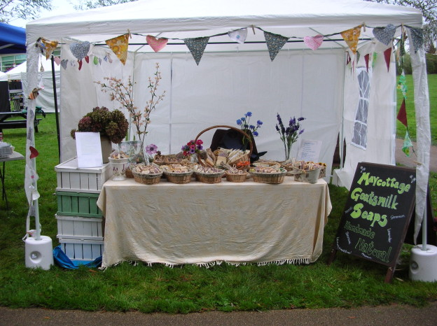 A really fabulous day with the Anonymous Travelling Market at the Wimborne Food Festival in October.