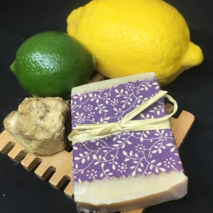 Lemon Lime & Ginger Goats Milk Soap